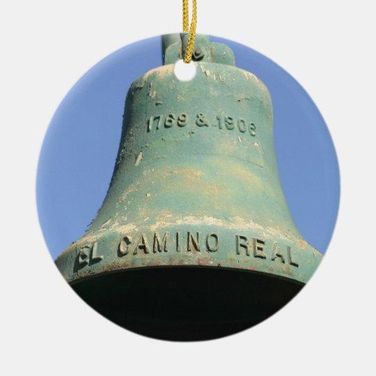 El Camino Real 1769-1906 Round Ceramic Decoration