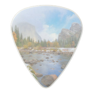 El Capitan and Three Brothers Acetal Guitar Pick
