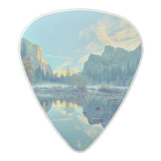 El Capitan and Three Brothers Reflection Acetal Guitar Pick