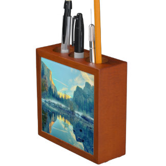 El Capitan and Three Brothers Reflection Desk Organiser
