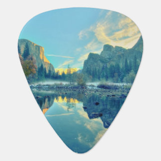 El Capitan and Three Brothers Reflection Guitar Pick