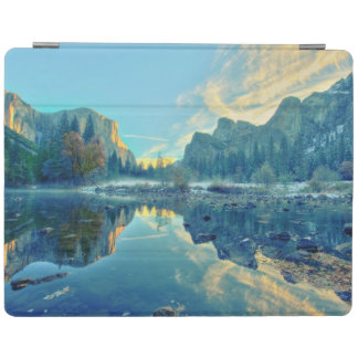 El Capitan and Three Brothers Reflection iPad Cover