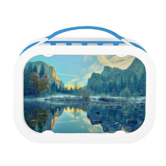 El Capitan and Three Brothers Reflection Lunch Box