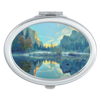El Capitan and Three Brothers Reflection Makeup Mirror