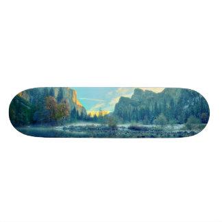 El Capitan and Three Brothers Reflection Skate Board