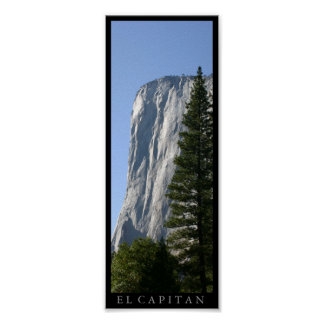 El Capitan at Yosemite National Park Poster