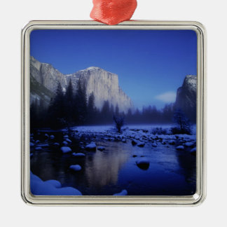 El Capitan Mountain, Yosemite National Park, Christmas Ornament