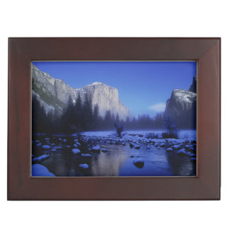 El Capitan Mountain, Yosemite National Park, Keepsake Box