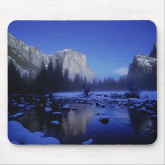 El Capitan Mountain, Yosemite National Park, Mouse Pad