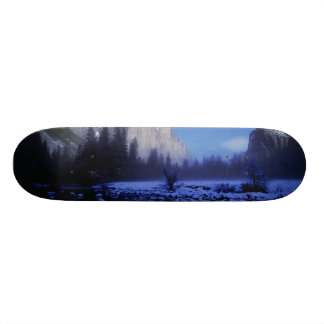 El Capitan Mountain, Yosemite National Park, Skateboards