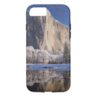 El Capitan reflects into the Merced River in 2 iPhone 8/7 Case