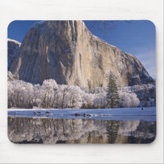 El Capitan reflects into the Merced River in 2 Mouse Mat