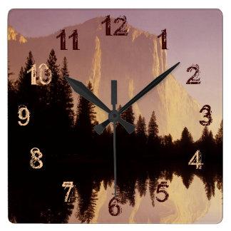 El Capitan Square Wall Clock