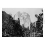 El Capitan ~ Yosemite National Park 1866 Greeting Card
