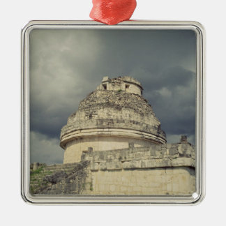 El Caracol  Mayan observatory Christmas Ornament