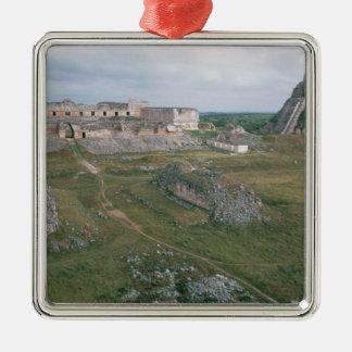 El Castillo and the Nunnery Christmas Ornament