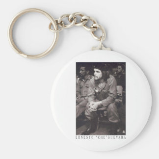 El Che Guevara Basic Round Button Key Ring