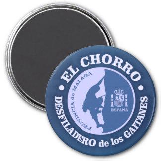El Chorro (climbing) 7.5 Cm Round Magnet