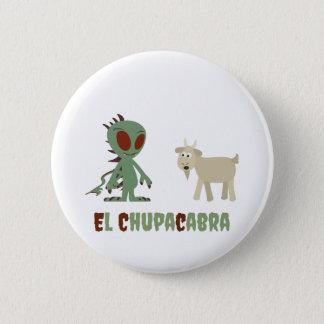 El Chupacabra 6 Cm Round Badge