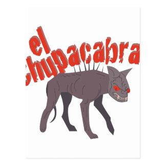 El Chupacabra! Postcard