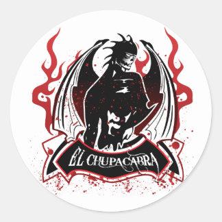 El Chupacabra - The Goat Sucker Round Sticker
