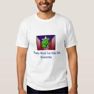 el coqui, Puerto Rico La Isla Del Encanto Tshirt