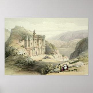 El Deir, Petra Poster