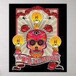 El Dia De Los Muertos - Day of the Dead Print