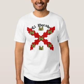 El Dorado Plain Font T-shirts
