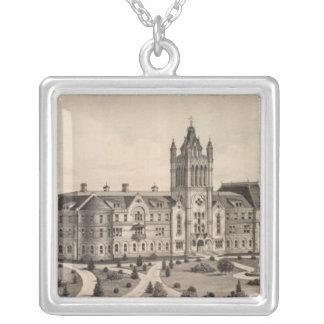 El Dorado University, Kansas Silver Plated Necklace