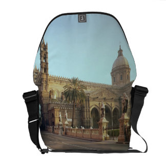 El Duomo, founded by Walter, Archbishop of Palermo Messenger Bags