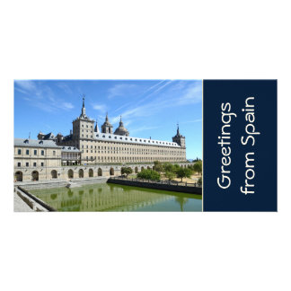 El Escorial, Spain Photo Card