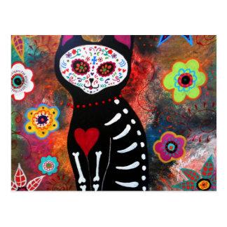 El Gato By Prisarts Postcard