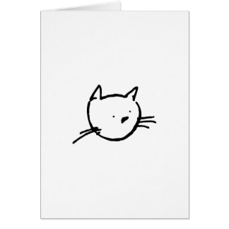 El Gato Greeting Card