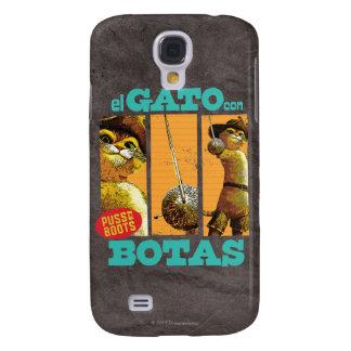 El Gato Con Botas Galaxy S4 Case