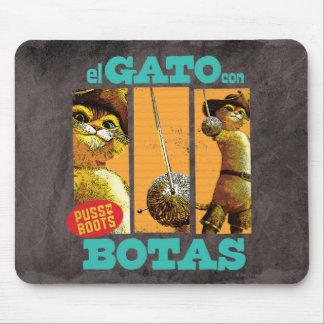 El Gato Con Botas Mouse Pads