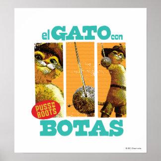 El Gato Con Botas Print