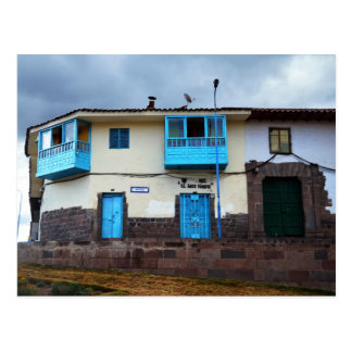 El Gato Negro Restaurant, Cusco, Peru Postcard