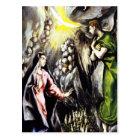 El Greco Annunciation Virgin Mary Postcard