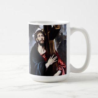 El Greco Christ Carrying The Cross Mug