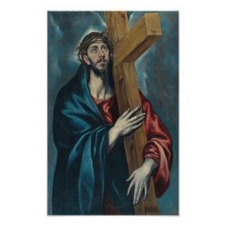 El Greco - Christ Carrying the Cross Photo