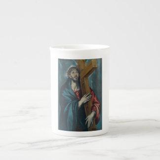 El Greco - Christ Carrying the Cross Bone China Mug