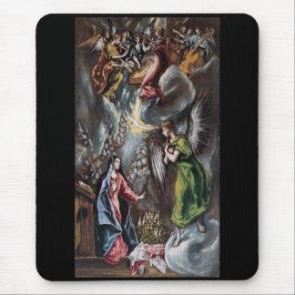 El Greco conception notification Mouse Pad