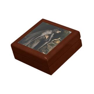 El Greco- St. Francis praying Jewelry Box