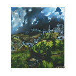 El Greco View of Toledo Canvas Wrap Stretched Canvas Print
