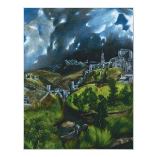 El Greco View of Toledo Invitations