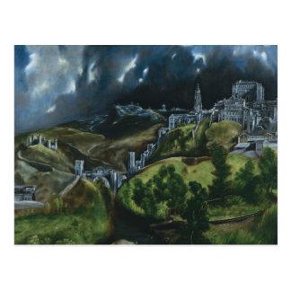 El Greco View of Toledo Postcard