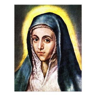 El Greco Virgin Mary Invitations