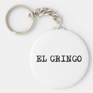 El Gringo Basic Round Button Key Ring