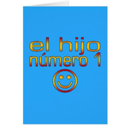 El Hijo Número 1 - Number 1 Son in Spanish Cards